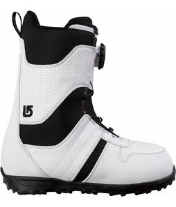Burton Jet Snowboard Boots White/Black