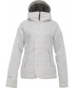Burton Jet Set Snowboard Jacket Bright White