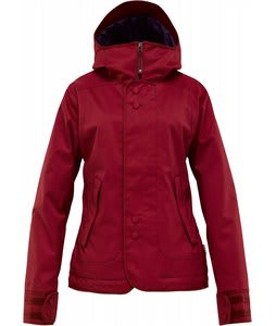 Burton Jet Set Snowboard Jacket Garnet