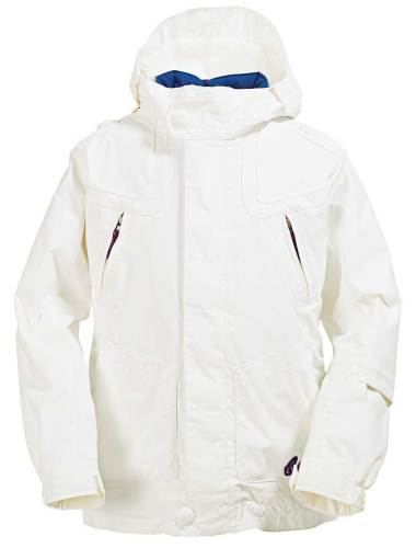 Burton Jewel System Snowboard Jacket Bright White