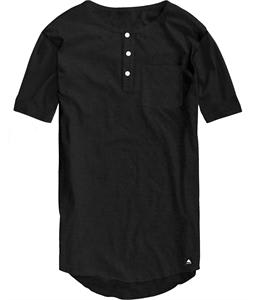 Burton Jimmy Henley Pocket T-Shirt Heather True Black