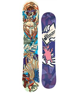 Burton Jeremy Jones Snowboard 151 Orange