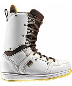 Burton Jeremy Jones Snowboard Boots White/Yellow/Brown