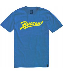 Burton Joystick Slim T-Shirt Heather Swedish Blue