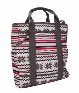 Burton Keep All Tote Fair Isle White