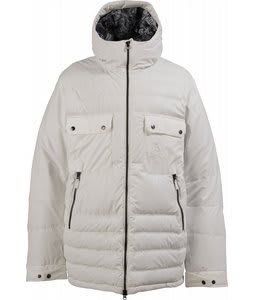 Burton Restricted Kurtz Down Snowboard Jacket Bright White
