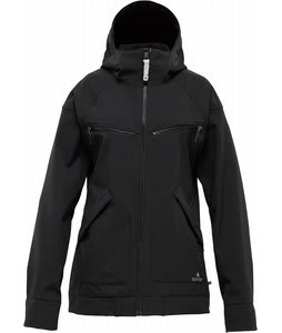 Burton Lakota Softshell Snowboard Jacket True Black