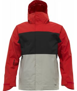 Burton Launch Insulated Snowboard Jacket Cardinal/True Black/Iron Grey
