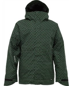 Burton Launch Snowboard Jacket Astroturf Dot Matrix Print