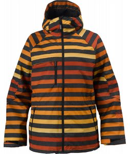 Burton Launch Snowboard Jacket Hydrant Big Stripe