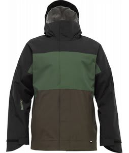 Burton Launch Snowboard Jacket Mocha/Sherwood/True Black