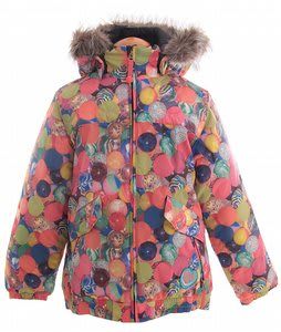 Burton Lavish Bomber Snowboard Jacket Balls Print