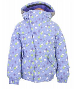 Burton Lavish Bomber Snowboard Jacket Amethyst Mosaic