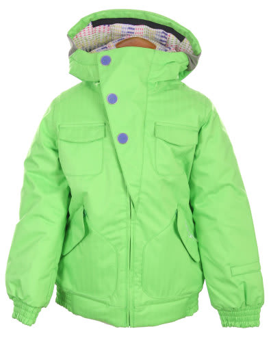 Burton Lavish Bomber Snowboard Jacket Sonic Green