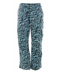 Burton Lucky Snowboard Pants Arctic Labrinth Print