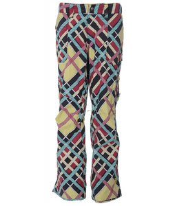 Burton Lucky Snowboard Pants Lime Light Explaided Print
