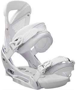Burton Lexa EST Snowboard Bindings Thats White