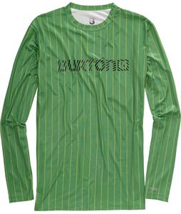 Burton Lightweight Crew Baselayer Top Astro Turf Chalk Stripe
