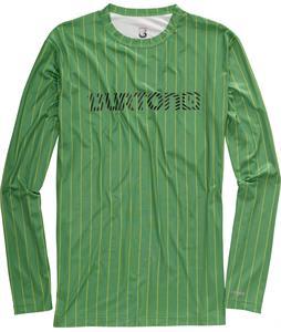 Burton Lightweight Crew Baselayer Top Astro Turf Chalk Stripe