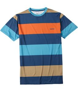 Burton Lightweight Tech Baselayer Top Team Blue Pop Stripe