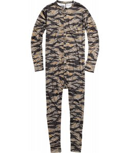 Burton Lightweight Union Suit Baselayer Black Tiger Camo
