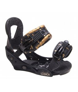 Burton Lo-Back Snowboard Bindings Black