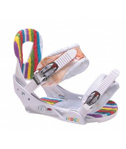 Burton Lo-Back Snowboard Bindings White