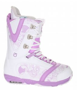 Burton Lodi Snowboard Boots Light Grey/Purple