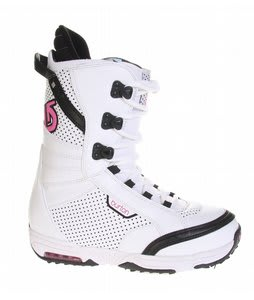 Burton Lodi Snowboard Boots White/Pink