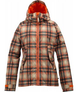 Burton Logan Snowboard Jacket Fever Radiant Plaid