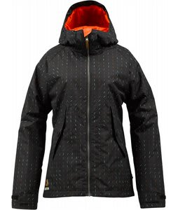 Burton Logan Snowboard Jacket True Black Morph
