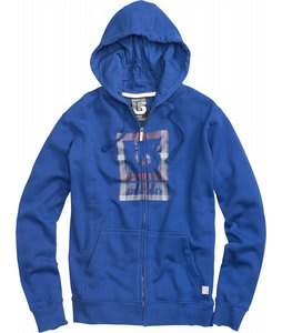 Burton Logo Fill Fullzip Hoodie Royals