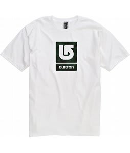 Burton Logo Fill T-Shirt Bright White