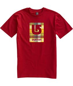 Burton Logo Fill T-Shirt Cardinal