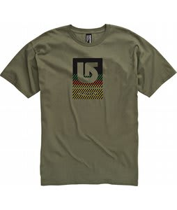 Burton Logo Fill T-Shirt Military Green