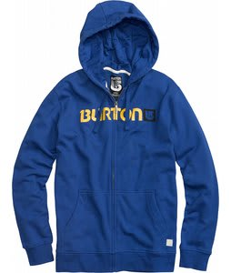 Burton Logo Horizontal Fullzip Hoodie Royals
