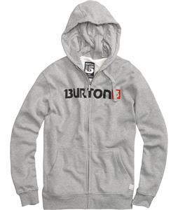 Burton Logo Horizontal Fullzip Hoodie
