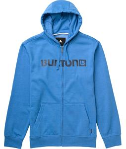 Burton Logo Horizontal Full-Zip Hoodie Heather Cove