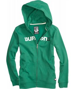 Burton Logo Horizontal Fullzip Hoodie Murphy
