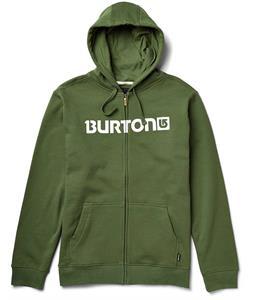 Burton Logo Horizontal Full-Zip Hoodie Olive
