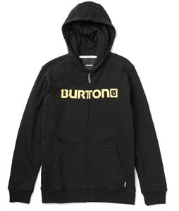 Burton Logo Horizontal Full-Zip Hoodie True Black