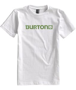 Burton Logo Horizontal T-Shirt Bright White