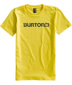 Burton Logo Horizontal T-Shirt Gold Metal