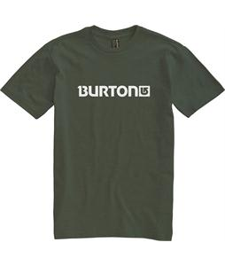 Burton Logo Horizontal T-Shirt Heather Olive