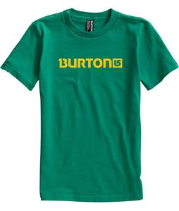 Burton Logo Horizontal T-Shirt Kelly