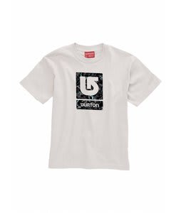 Burton Lightning Logo Fill T-Shirt Optic White