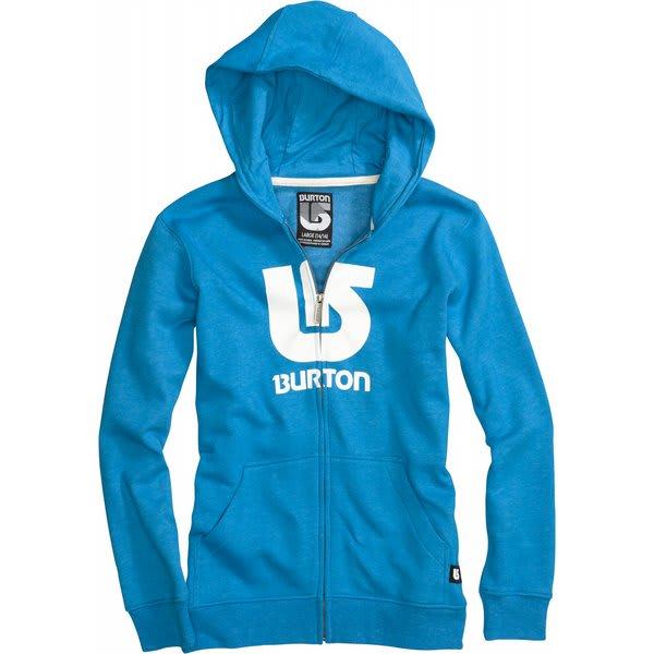 Burton Logo Vertical Fullzip Hoodie