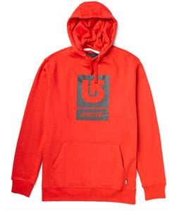 Burton Logo Vertical Pullover Hoodie Cardinal