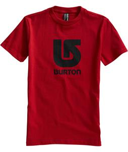 Burton Logo Vertical T-Shirt Cardinal