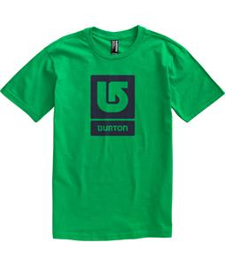 Burton Logo Vertical T-Shirt Kelly